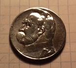 5 злотых 1936. Польша. Серебро. Юзеф Пилсудский., фото №2