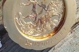 Кулон с жетоном UnoAErre, Италия., фото №6