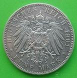 5 марок, 1901 год, Саксония., фото №7