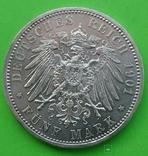 5 марок, Пруссия, 1901 год,, фото №7
