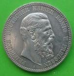 5 марок, 1888 год, Пруссия,, фото №2