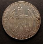 5 марок Цеппелин 1930 год, фото №3
