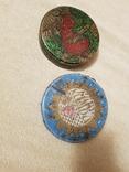 Банка из-под конфет и халвы лот 2шт, фото №2