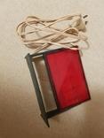 Красный фонарь для проявки фотографий, фото №3