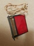 Красный фонарь для проявки фотографий, фото №4