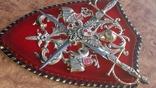 Пано, герб рыцари, мечи, фото №4