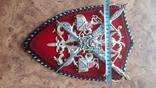 Пано, герб рыцари, мечи, фото №6