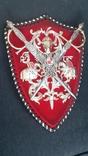Пано, герб рыцари, мечи, фото №8