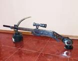 Ружье с оптикой. Ручная работа., фото №8