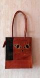 Кожаная сумка с изображением Кота, фото №2