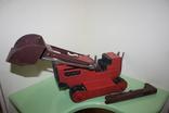 Экскаватор СССР машина, игрушка, трактор, фото №2