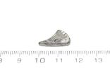 Заготовка-вставка з метеорита Seymchan, 1,7 г, із сертифікатом автентичності, фото №4