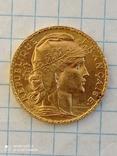 20 франков 1912 Франция к6л8, фото №8
