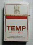 Сигареты ТЕМР 2002 г.