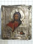 Иконка в серебряном окладе под реставрацию.(4-4.7см), фото №2