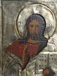 Иконка в серебряном окладе под реставрацию.(4-4.7см), фото №3