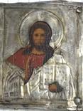 Иконка в серебряном окладе под реставрацию.(4-4.7см), фото №6