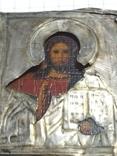 Иконка в серебряном окладе под реставрацию.(4-4.7см), фото №10