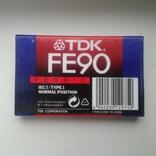 Кассета TDK FE 90, фото №2