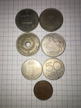 Подборка монет Норвегии. 7 шт, фото №2