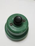 Кнопка, електро пускач (пускатель) з бакеліту (СССР), фото №2
