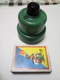 Кнопка, електро пускач (пускатель) з бакеліту (СССР), фото №5