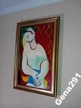Картина Пабло Пикассо. Сон. Копия., фото №3