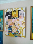 "Копия картины Густава Климта"" Ожидание"" 60*80см двп холст масло, фото №3"