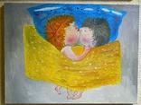 Картина копия Е.Гапчинской  Холст Масло Ручная Работа 30*40см, фото №2