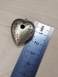 Кулон серебро 875 проба ., фото №7