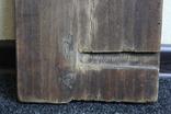 Покрова 29х24 доска ковчег 17-18 век. письмо 19 век., фото №3