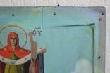 Покрова 29х24 доска ковчег 17-18 век. письмо 19 век., фото №6