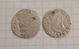 Трояки 1621, 1622 гг. ( 2 шт.), фото №2