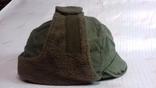 военная зимняя кепи-шапка. зарубежка.лот № 4, фото №2
