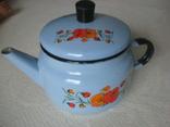 Чайник заварник эмалированный (600 мл), фото №2