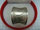 Серебряное Кольцо Размер 16.5 Пэчворк Лоскутный Узор Матовый 925 проба Серебро 775, фото №3