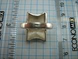 Серебряное Кольцо Размер 16.5 Пэчворк Лоскутный Узор Матовый 925 проба Серебро 775, фото №6