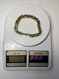 Браслет (мед.золото) 54 гр, фото №2