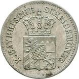 Германия Бавария 3 крейцера 1865 г, фото №3