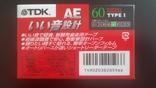 Касета TDK AE 60 (Release year: 1998), фото №3