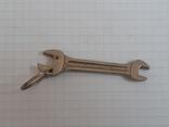 Брелок рожковый ключ, фото №6