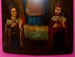 Икона Покрова. Размеры 30 см на 21 см., фото №6