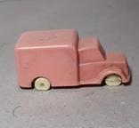 Миниатюрная машинка грузовик СССР 60-70-е годы,клемо,длина 5,5 см., фото №3