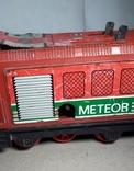 Заводной Тепловоз METEOR из СССР, фото №4