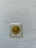 5 Долларов Золотой кленовый лист 1/10 oz.1987, фото №2