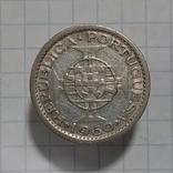 5 эскудо 1960г Порт. Мозамбик серебро, фото №2