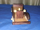 Ретроавтомобиль деревянный, фото №4