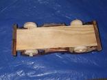 Ретроавтомобиль деревянный, фото №8