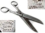 III REICH ножницы клейма DRGM Deutsches Reichs-Gebrauchs-Muster., фото №2