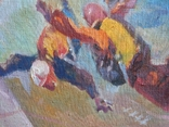 "В.Кнышевский""Над облаками"", х.м.44*54см,1980, фото №6"